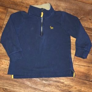 Boys Carters half zip pullover size 6